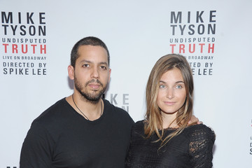 "Alizee Guinochet ""Mike Tyson: Undisputed Truth"" Broadway Opening Night - Arrivals And Curtain Call"