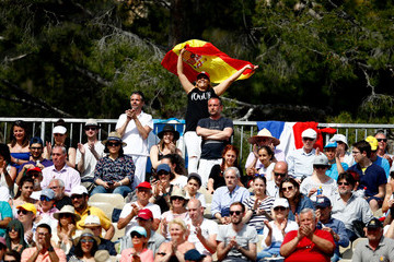 Aljaž Bedene ATP Masters Series: Monte Carlo Rolex Masters - Day Four