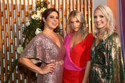 (L-R) Debbie Wosskow, Charlotte Mckinney, and Anna Jones attend the AllBright West Hollywood Grand Opening Party on September 25, 2019 in West Hollywood, California.