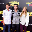 Allegra Leguizamo Guests Attend the Premiere of Lionsgate's 'American Ultra'