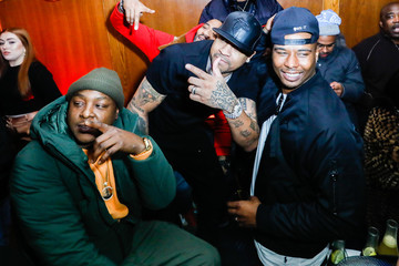 Allen Iverson Jadakiss The Players' Tribune + Heir Jordan Host Players' Night Out At The Royale Party At Bounce Sporting Club In Chicago