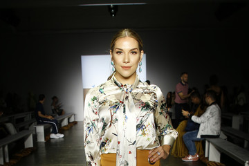 Allison Holker Indonesian Diversity - Front Row - September 2018 - New York Fashion Week: The Shows