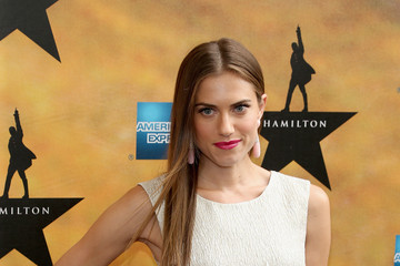 Allison Williams 'Hamilton' Broadway Opening Night - Arrivals And Curtain Call