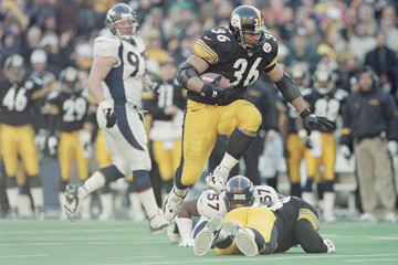 Jerome Bettis Allsport USA Edit And Rescans DI