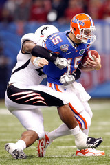 Tim Tebow Walter Stewart Allstate Sugar Bowl - Florida v Cincinnati