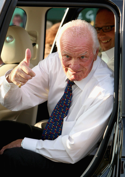 Henry Cooper Boxer Henry Cooper arrives at a private reception at the 2009 Alltech FEI European Jumping & Dressage Championships in the grounds of Windsor Castle on August 28, 2009 in Windsor, England.