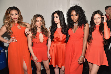 Ally Brooke Camila Cabello American Heart Association Go Red For Women Red Dress Collection 2015 Presented By Macy's At Mercedes-Benz Fashion Week - Red Carpet