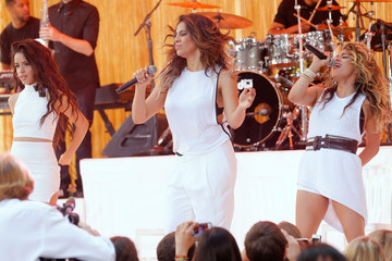 Ally Brooke Camila Cabello Fifth Harmony Performs on the 'Today' Show