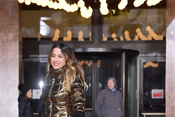 Ally Brooke 92nd Annual Macy's Thanksgiving Day Parade - Rehearsals Day 2