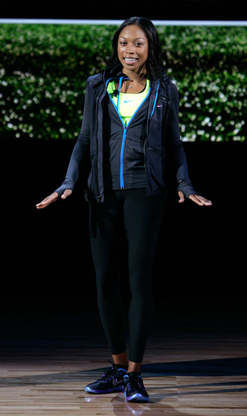 Allyson Felix Pictures - Nike Introduces New Basketball ...