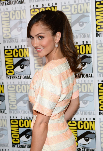 Actress Minka Kelly attends 'Almost Human' Press Room during Comic-Con International 2013 at Hilton San Diego Bayfront Hotel on July 19, 2013 in San Diego, California.