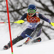 American Mikaela Shiffrin becomes the youngest-ever gold medal winner in Women's Slalom.