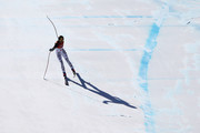 Viktoria Rebensburg of Germany competes during the Alpine Skiing Ladies Super-G on day eight of the PyeongChang 2018 Winter Olympic Games at Jeongseon Alpine Centre on February 17, 2018 in Pyeongchang-gun, South Korea.