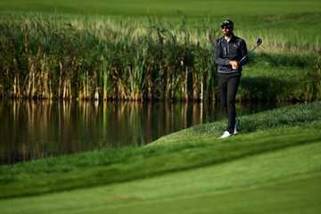 Alvaro Quiros KLM Open - Day Two