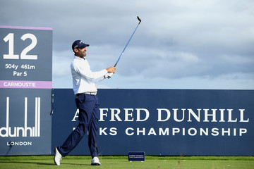 Alvaro Quiros Alfred Dunhill Links Championship: Practice