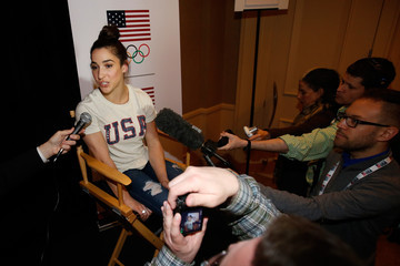 Aly Raisman 2016 Team USA Media Summit - Press Conferences