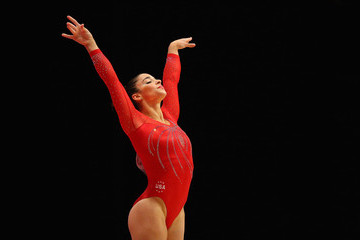 Aly Raisman 2015 World Artistic Gymnastics Championships - Day Five