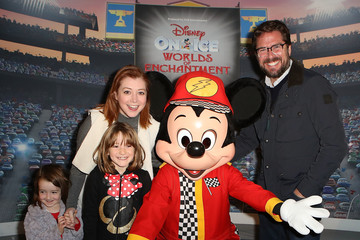 Alyson Hannigan Disney on Ice Presents Worlds of Enchantment Celebrity Guests (STAPLES Center Los Angeles)