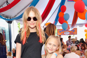 Alyvia Alyn Lind John Varvatos 13th Annual Stuart House Benefit Presented by Chrysler With Kids' Tent by Hasbro Studios - Inside
