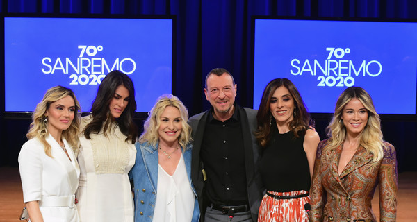 70 Sanremo Music Festival Press Conference