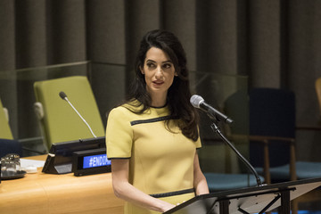 Amal Clooney Amal Clooney Addresses the UN High Level Event on Bringing ISIL to Justice