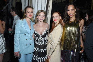 Amanda Brugel Sydney Sweeney Entertainment Weekly Celebrates Screen Actors Guild Award Nominees At Chateau Marmont Sponsored By L'Oréal Paris, Cadillac, And PopSockets - Inside