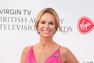 Amanda Holden Virgin TV BAFTA Television Awards - Red Carpet ARrivals
