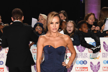 Amanda Holden Pride Of Britain Awards 2018 - Red Carpet Arrivals