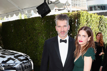 Amanda Peet David Benioff Audi At The 70th Annual Emmy Awards