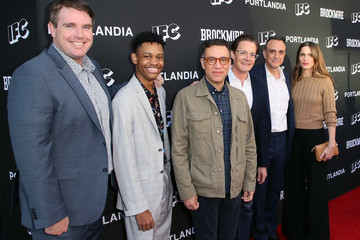 Amanda Peet IFC Hosts 'Brockmire' And 'Portlandia' EMMY FYC Red Carpet Event