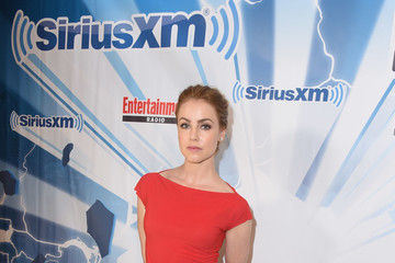 Amanda Schull SiriusXM's Entertainment Weekly Radio Channel Broadcasts From Comic Con 2017 - Day 1