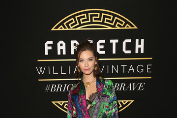 Amanda Steele Farfetch and William Vintage Celebrate Gianni Versace Archive hosted by Elizabeth Stewart and William Banks-Blaney