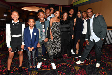 Amandla Stenberg Algee Smith 'The Hate U Give' Cast, Director And Author Attend Red Carpet Screening In Atlanta