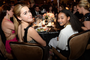 Amandla Stenberg 16th Costume Designers Guild Awards With Presenting Sponsor Lacoste - Backstage And Audience