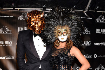 Amare Stoudemire Alexis Welch SVEDKA Vodka And smartwater Present Heidi Klum's Haunted Holiday Party Benefitting The American Red Cross