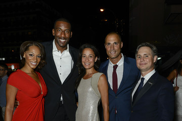 Amare Stoudemire Alexis Welch DuJour Magazine Launch Party | Hosted by Jason Binn, Christy Turlington Burns and Bruce Weber | Wednesday, September 5, 2012