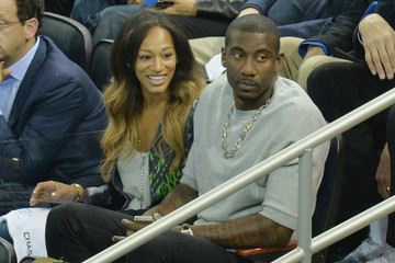 Amare Stoudemire Alexis Welch NHL Stanley Cup Final: Game Three