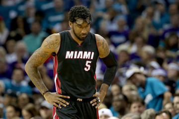 Amare Stoudemire Miami Heat v Charlotte Hornets - Game Four