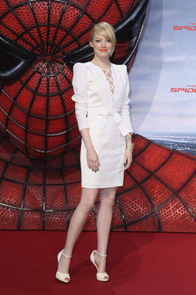 "Actress Emma Stone attends the Germany premiere of ""The Amazing Spider-Man"" at Sony Center on June 20, 2012 in Berlin, Germany."