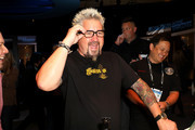 Guy Fieri demos Echo Frames at the Amazon After Hours event during CES 2020 at The Venetian Las Vegas on January 07, 2020 in Las Vegas, Nevada.