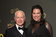 Neal McDonough (L) and Ruve McDonough attend the Amazon Prime Video's Golden Globe Awards After Party at The Beverly Hilton Hotel on January 6, 2019 in Beverly Hills, California.