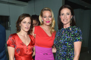 (L-R) Actresses Sarah Clarke, Jeri Ryan and Mimi Rogers attends Amazon Red Carpet Premiere Screening For Season Two Of Original Drama Series, 'Bosch' on March 3, 2016 in Los Angeles, California.