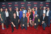 Cast and producers attend Amazon Red Carpet Premiere Screening For Season Two Of Original Drama Series, 'Bosch' on March 3, 2016 in Los Angeles, California.