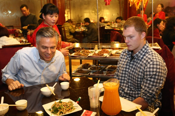 U s ambassador to china jon huntsman jr visits hunan for Ambassador chinese cuisine