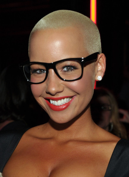 pics of amber rose with hair. makeup amber rose with hair