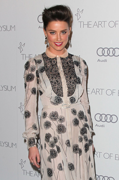 "Amber Heard - The Art Of Elysium's 6th Annual Black-tie Gala ""Heaven"" - Arrivals"
