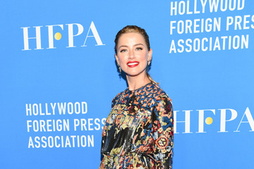 Amber Heard Hollywood Foreign Press Association's Grants Banquet - Arrivals