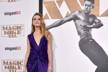 Amber Heard Premiere of Warner Bros. Pictures' 'Magic Mike XXL' - Red Carpet