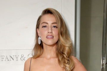 Amber Heard Celebs Attend the Tiffany & Co. Cocktail Party