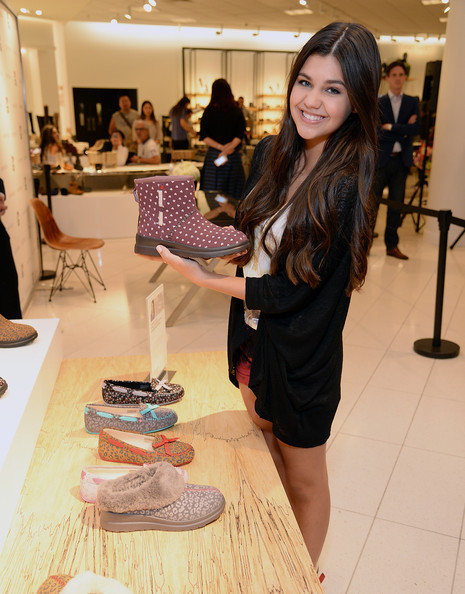 Amber Montana celebrates the launch of I Heart UGG at Nordstrom - The Grove Los Angeles at The Grove on August 9, 2014 in Los Angeles, California.
